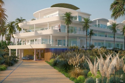 Luxuriöse Wohnungen und Penthäuser mit herrlichem Meerblick in einem Wohngebiet in Benalmádena, Málaga