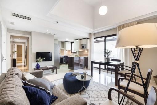 Tolle Wohnung als Investitionsobjekt mit Meerblick direkt am Golfplatz gelegen in Estepona