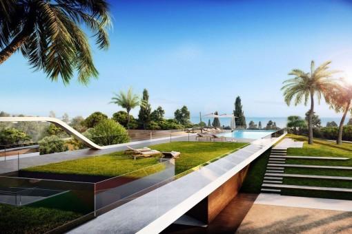Hübsche Bauprojekt-Villa mit 3 Schlafzimmern in Mijas Costa