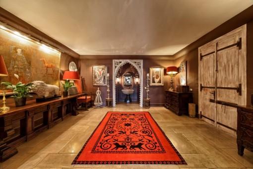 Herrlicher Eingangsbereich