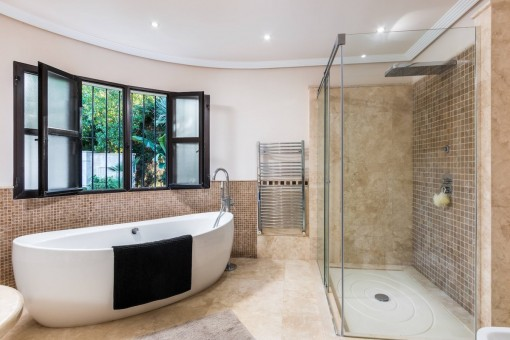 Stilvolles Badezimmer en Suite
