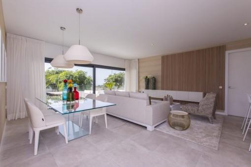 Strandnahe, moderne Erdgeschosswohnung in Planungsphase mit 4 Schlafzimmern in Estepona