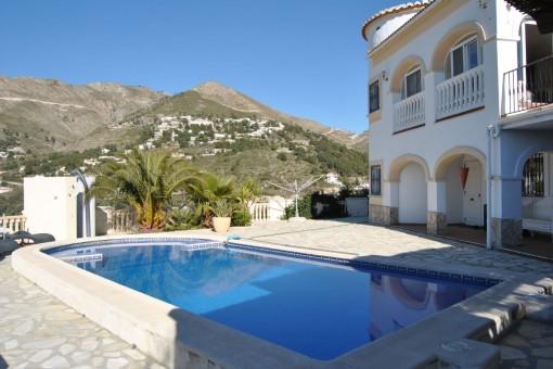 Beeindruckende Villa mit fantastischem Blick in Cómpeta
