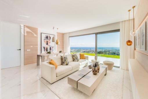 Schönes 3 Schlafzimmer Penthouse mit Ausblickt in Benahavis