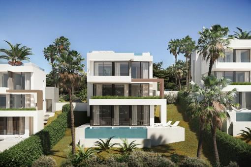 Unschlagbarer Preis für diese moderne 3-Zimmer-Villa in La Cala de Mijas