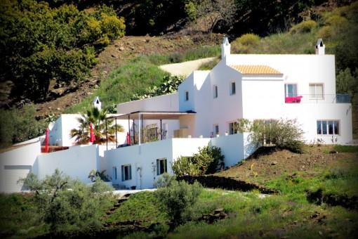 Fantastisches Finca-Anwesen auf dem Land in Cómpeta, derzeit als B&B tätig