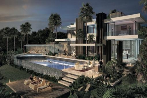Spektakuläre Luxus Villa mit atemberaubendem Design in Marbella